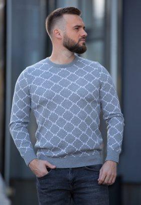 Свитер Trend Collection 211419 серый+узор
