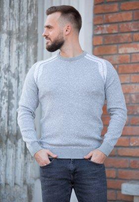 Свитер Trend Collection 211451 Серый+белый