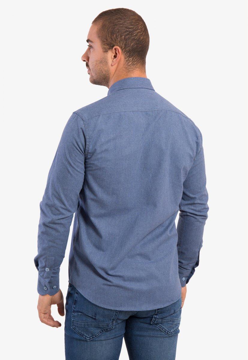 Рубашка светло-синяя Trend - Фото