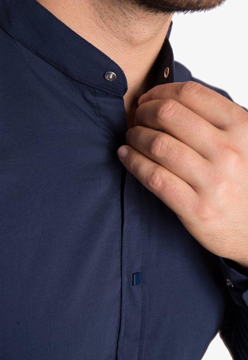 Рубашка синяя Trend 2738 - Фото 2