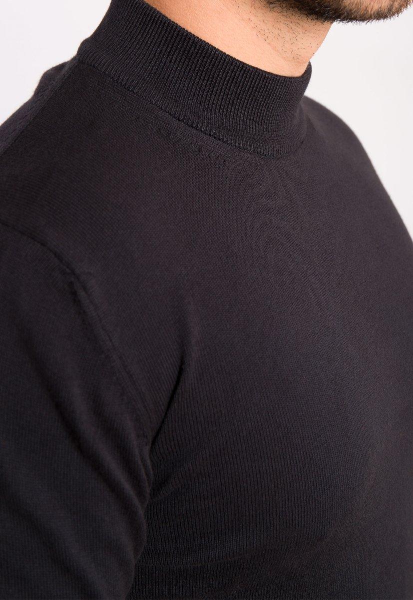 Гольф черный Trend 5168 - Фото 1