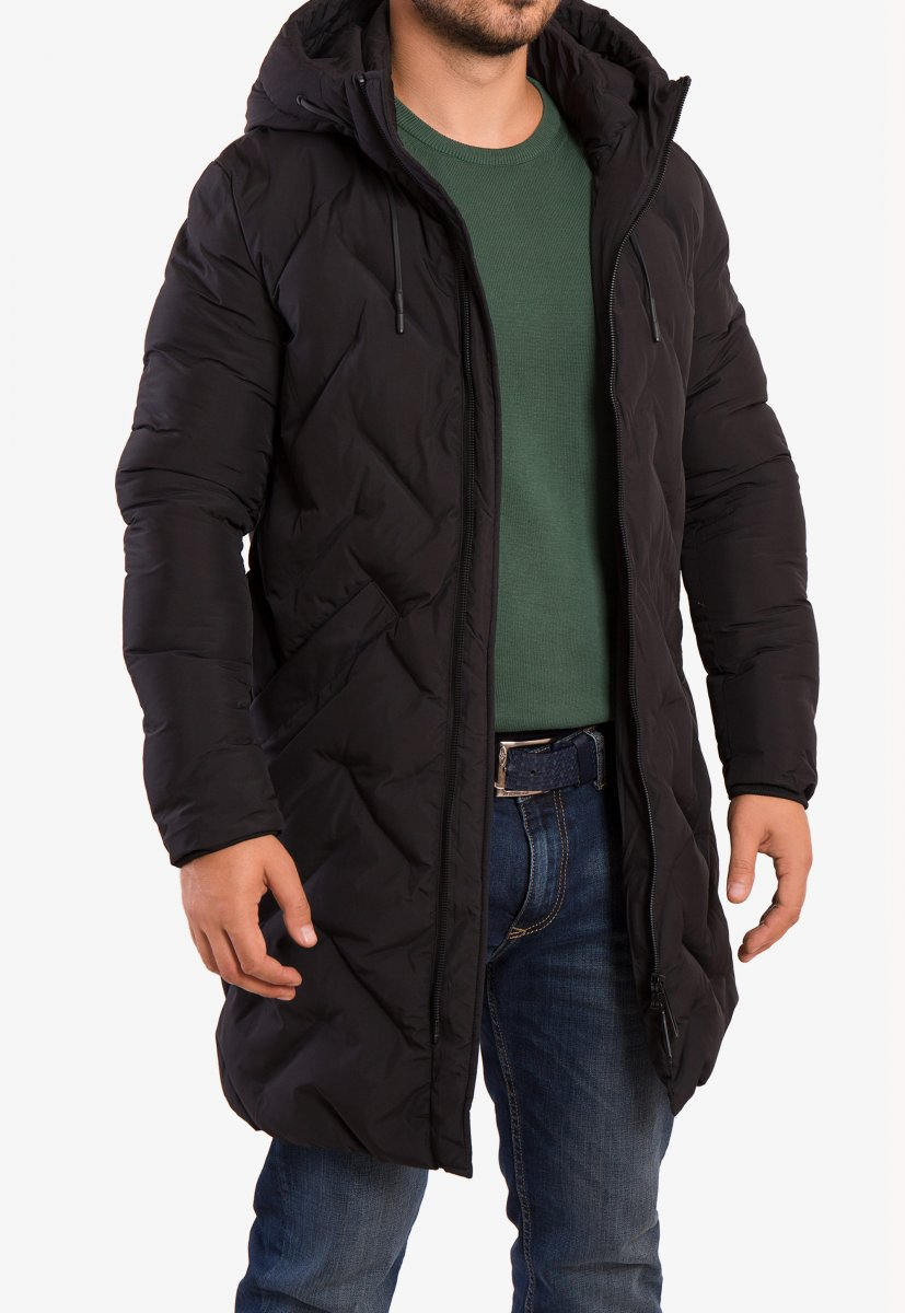 Куртка черная TREND 8-99 - Фото 1