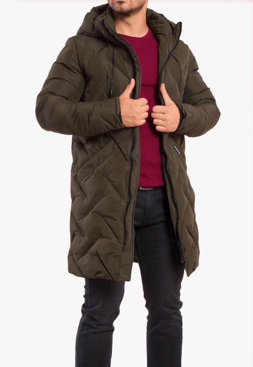Куртка хаки TREND 8-99 - Фото 5