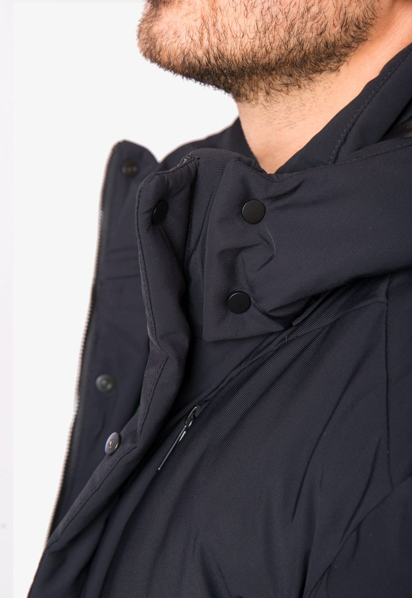 Куртка синяя TREND 6600 - Фото 4