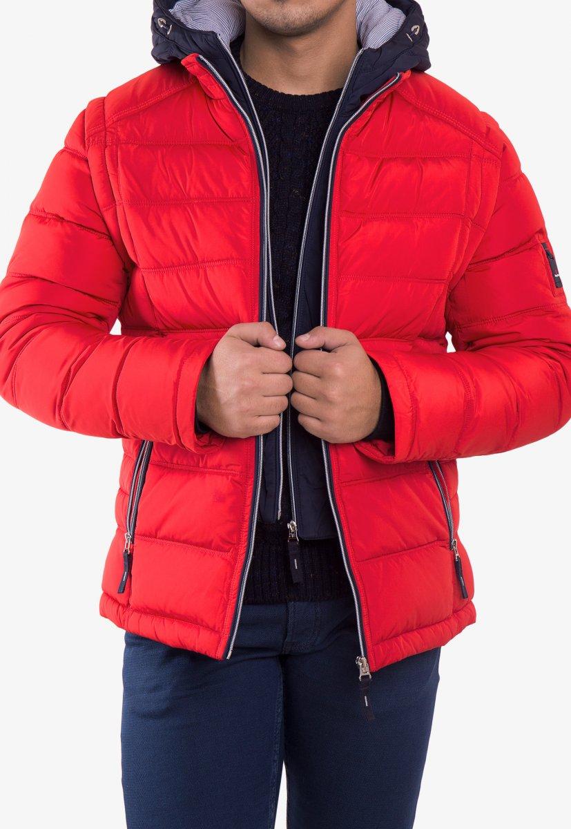 Куртка красная TREND 6W77 - Фото