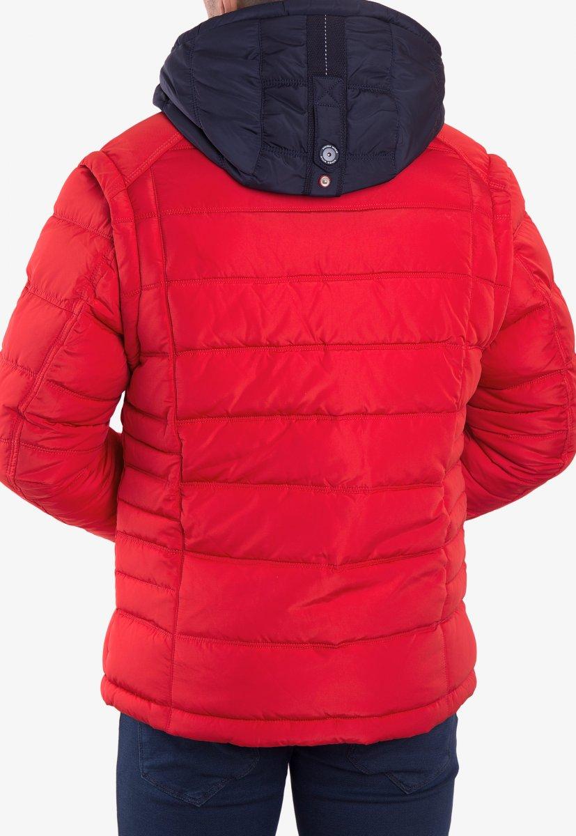Куртка красная TREND 6W77 - Фото 2