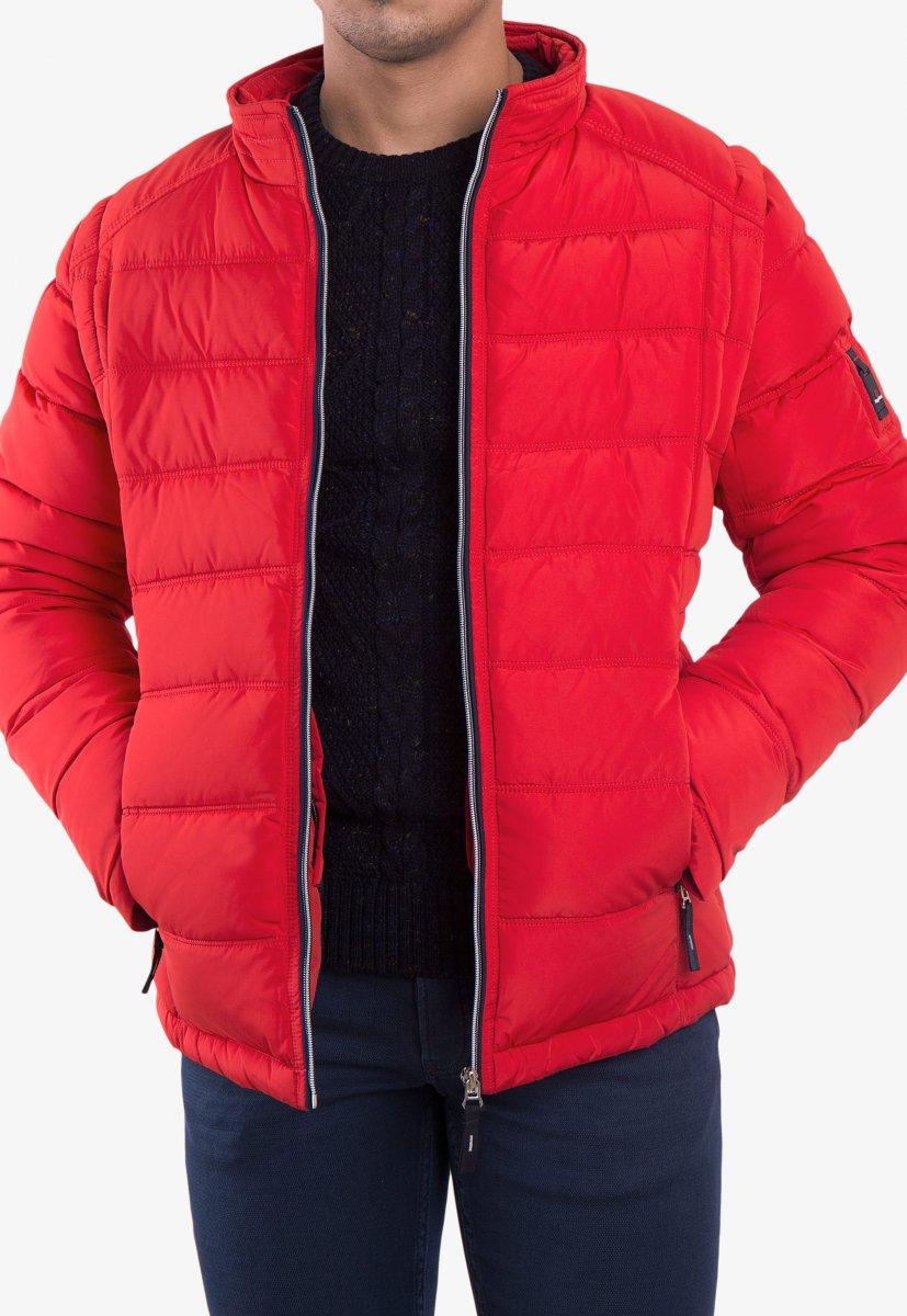 Куртка красная TREND 6W77 - Фото 3