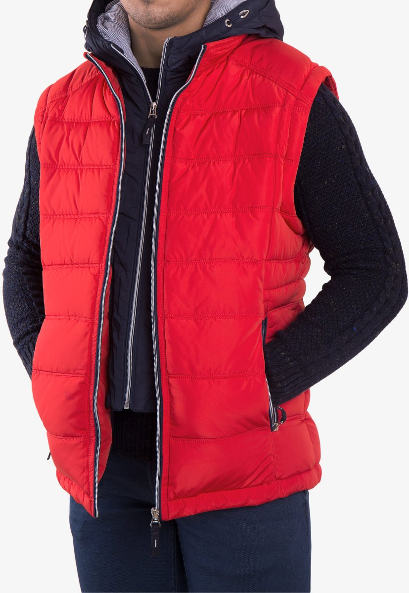 Куртка красная TREND 6W77 - Фото 4