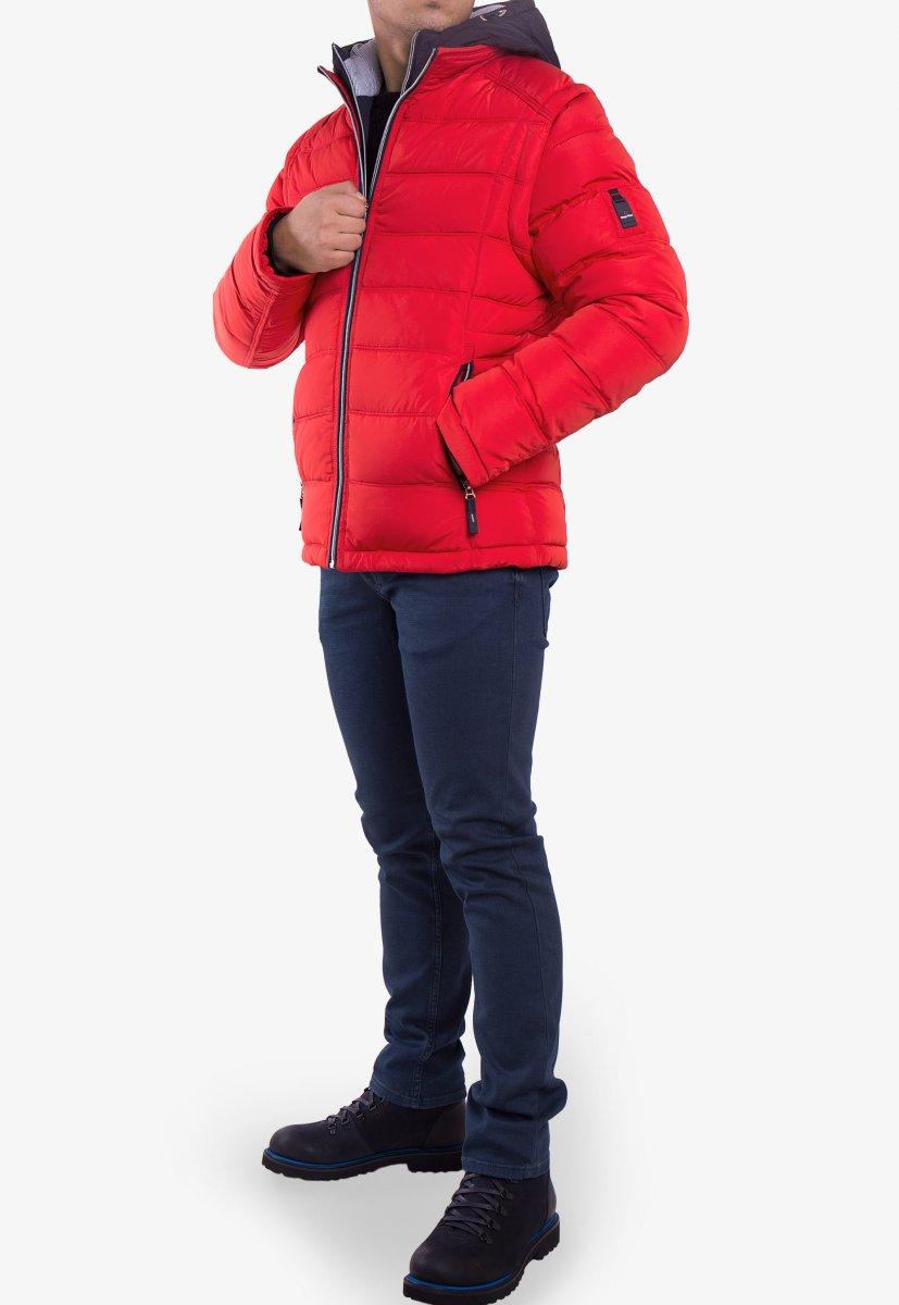 Куртка красная TREND 6W77 - Фото 5