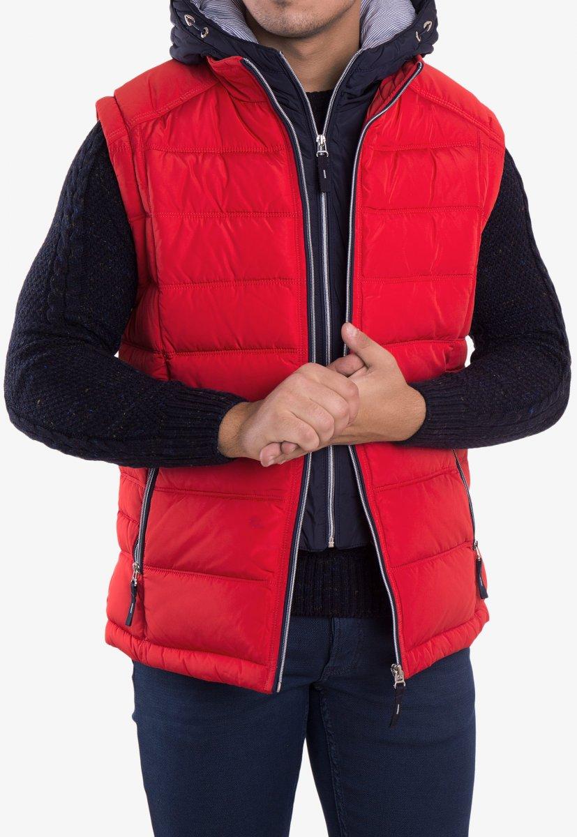 Куртка красная TREND 6W77 - Фото 6