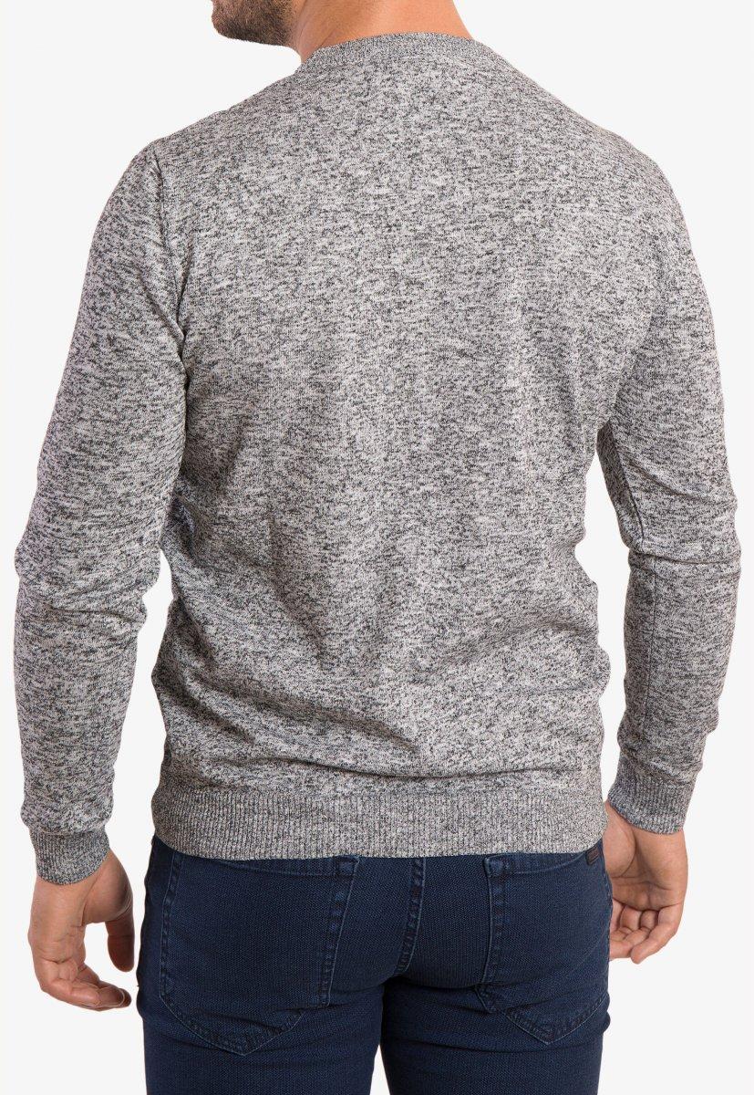 Свитер серый Trend 0293 - Фото