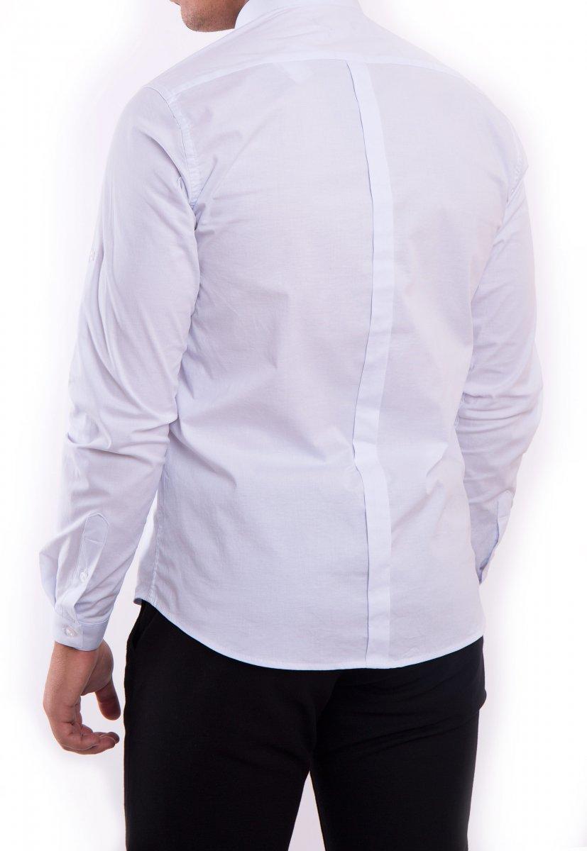 Рубашка белая Trend 2738 - Фото