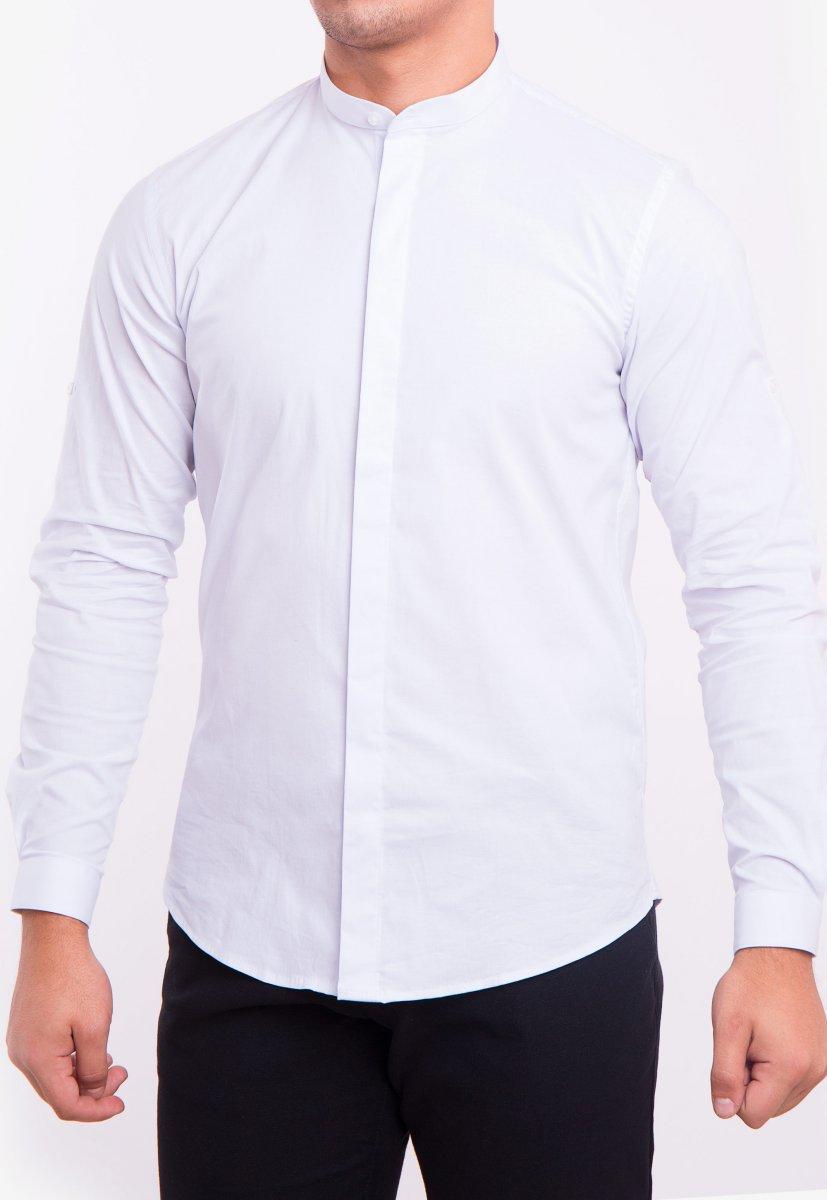 Рубашка белая Trend 2738 - Фото 1