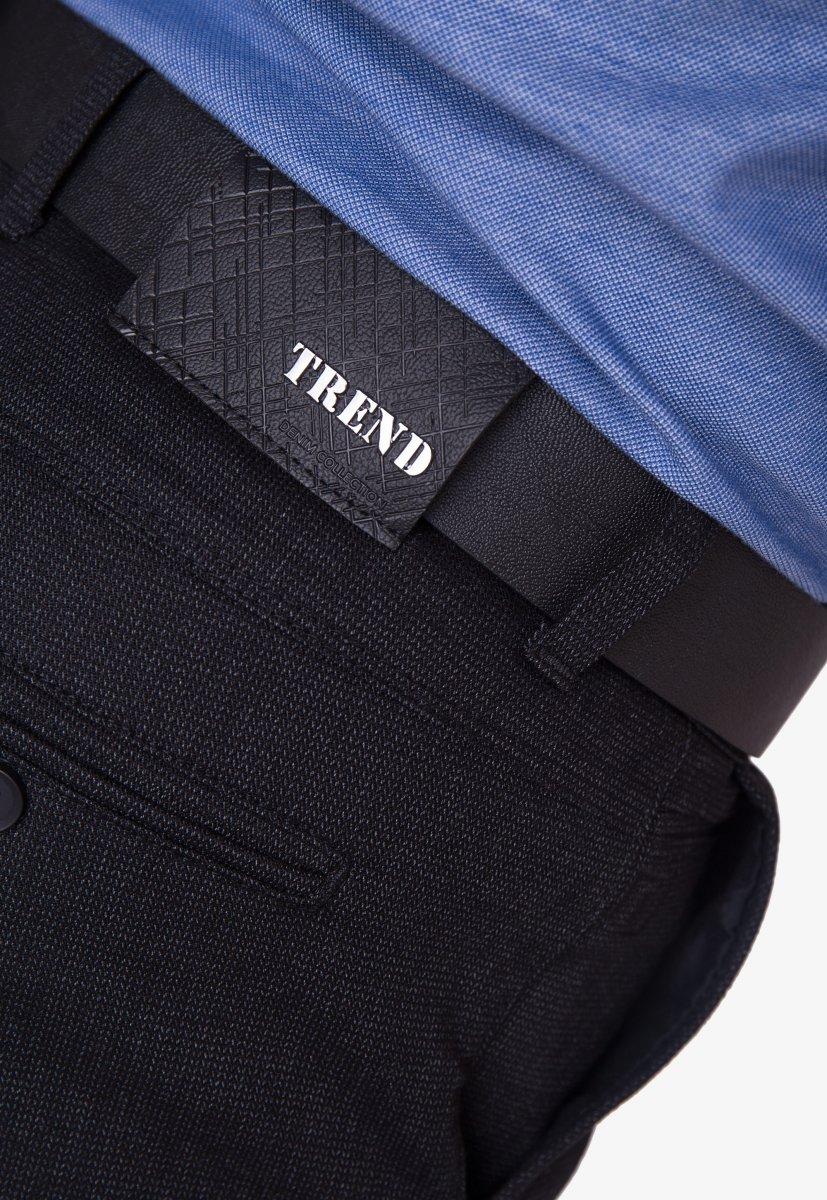Брюки темно-синие TREND 12256 - Фото 3