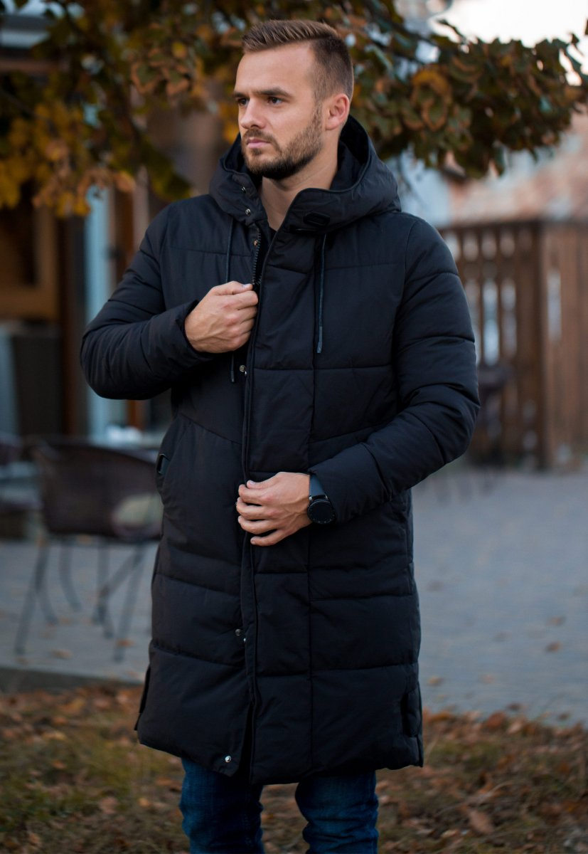 Куртка черная TREND 6-18 - Фото 1