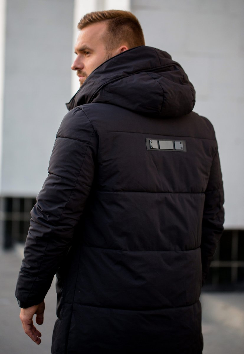 Куртка черная TREND 6-18 - Фото 2