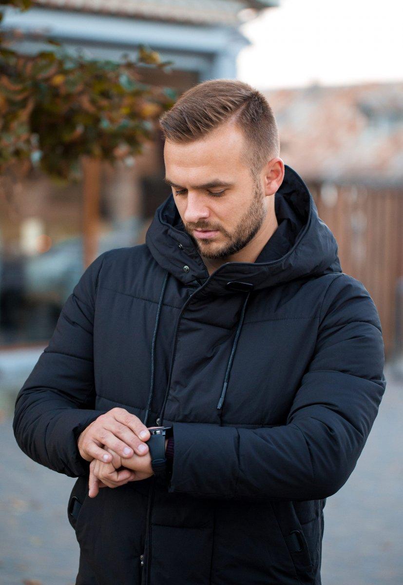 Куртка черная TREND 6-18 - Фото 3