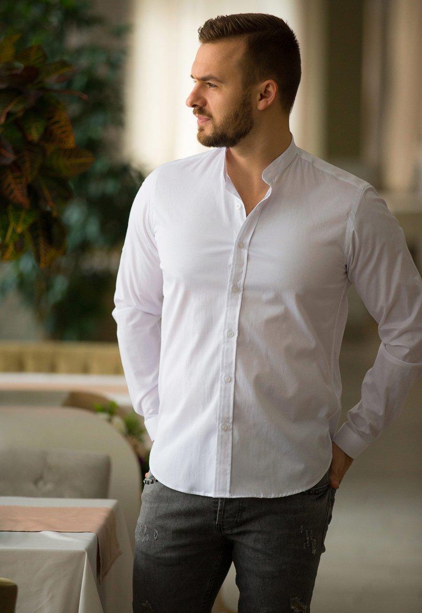 Белая рубашка Trend 02-1093 - Фото 1