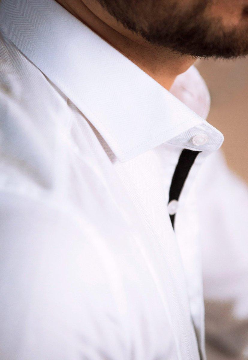 Белая рубашка Trend 02-531 - Фото 2