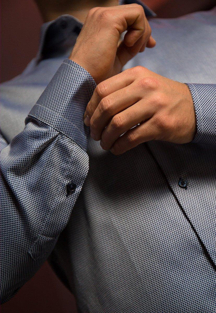 Белая рубашка Trend 02-1083 - Фото 2