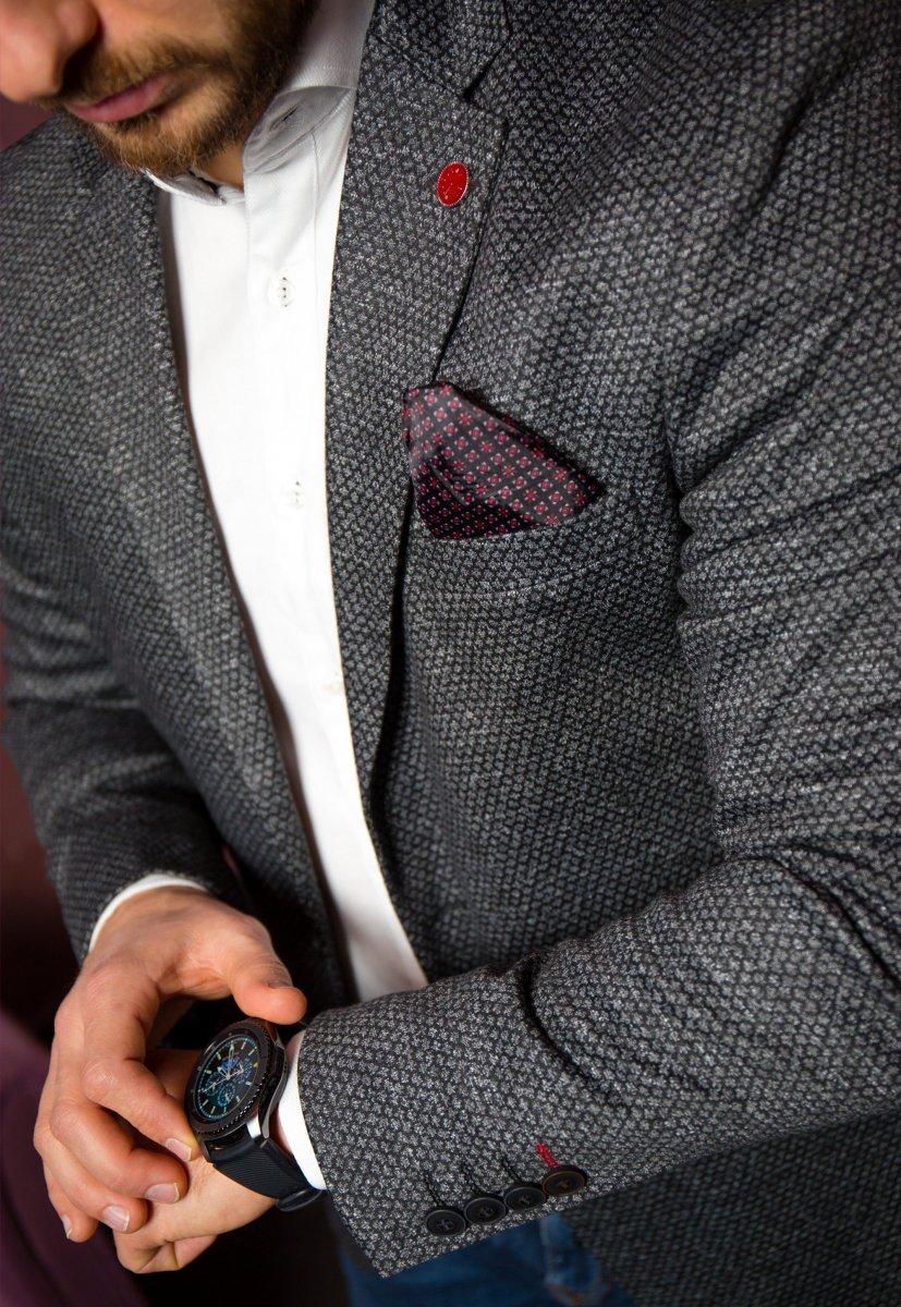 Черный пиджак TREND 500-4656 - Фото