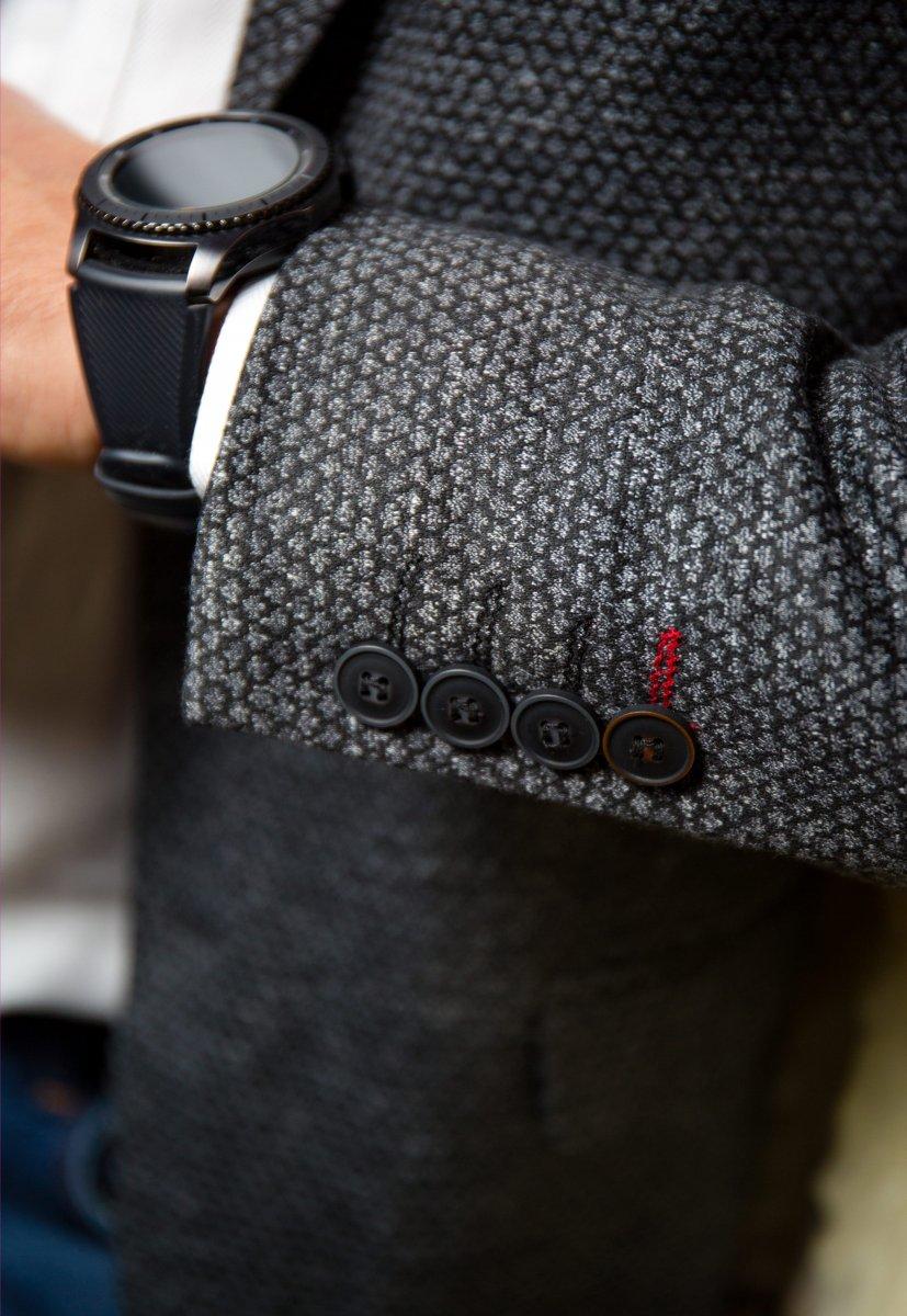 Черный пиджак TREND 500-4656 - Фото 2