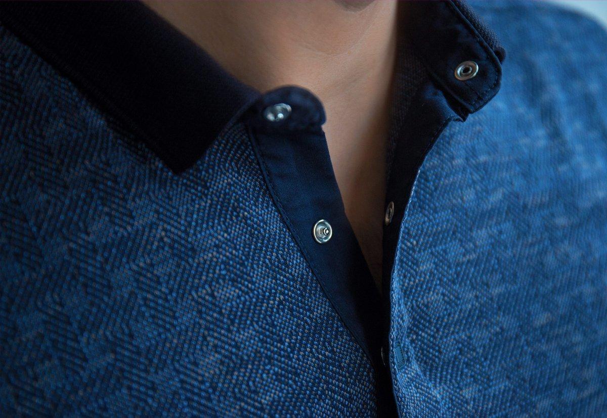 Джемпер синий Trend 8065-03 - Фото 1