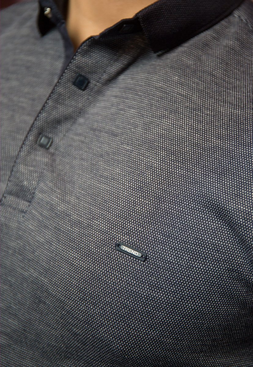 Джемпер серый Trend 8064-01 - Фото