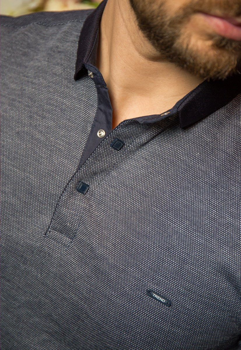 Джемпер серый Trend 8064-01 - Фото 1