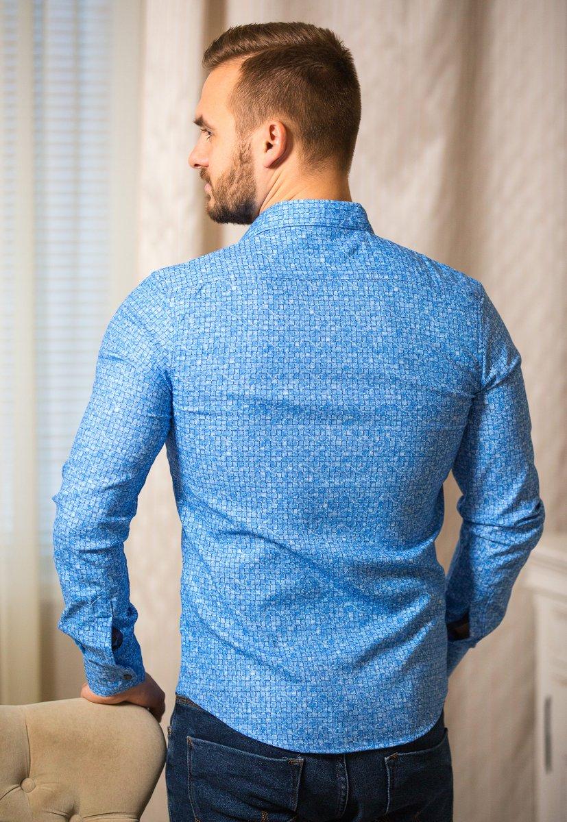 Небесная рубашка Trend 18051-01 - Фото 1