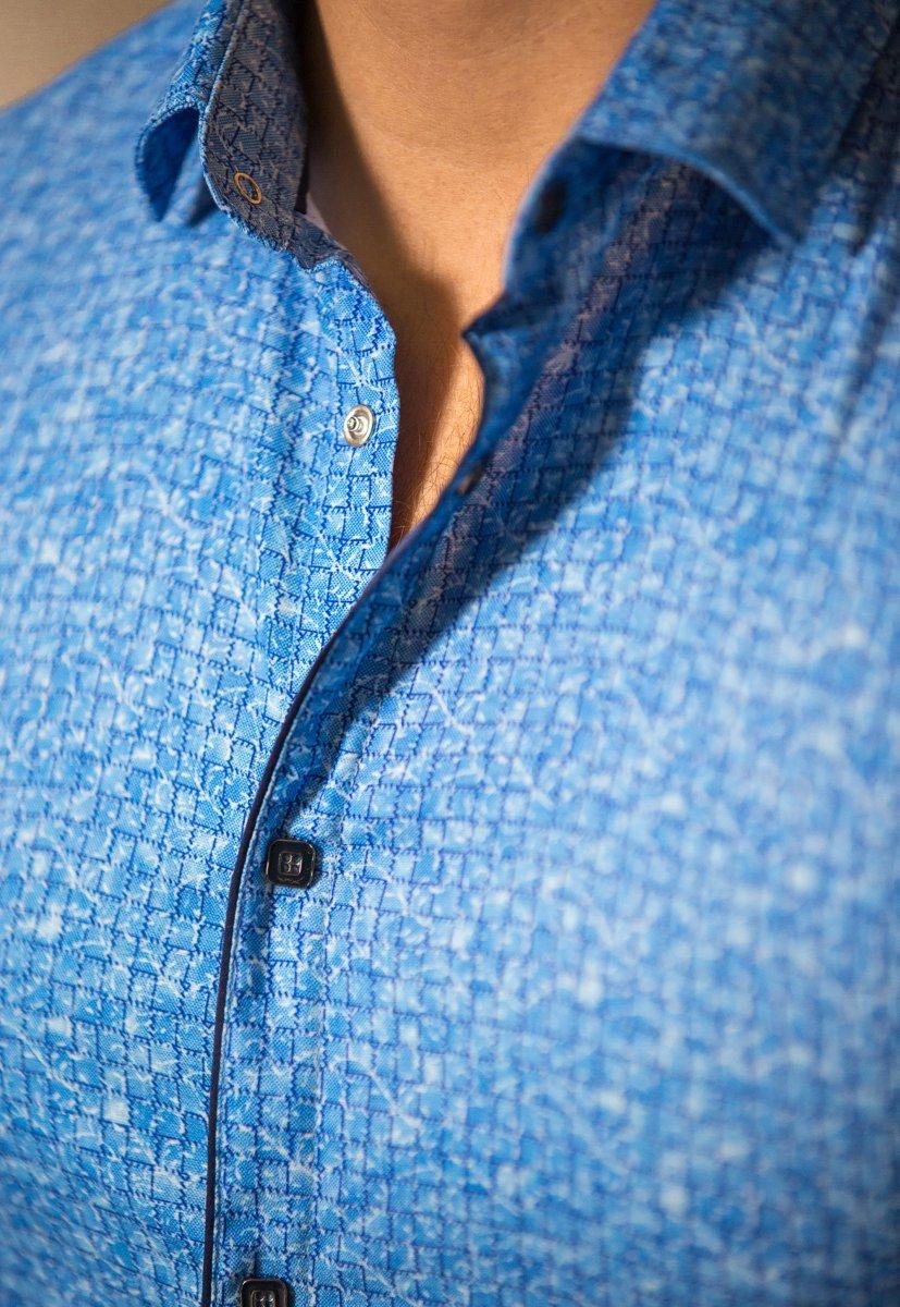 Небесная рубашка Trend 18051-01 - Фото 2