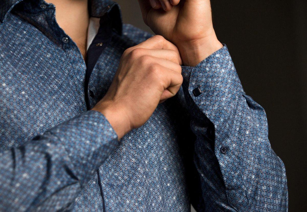 Небесная рубашка Trend 17981-01 - Фото 1