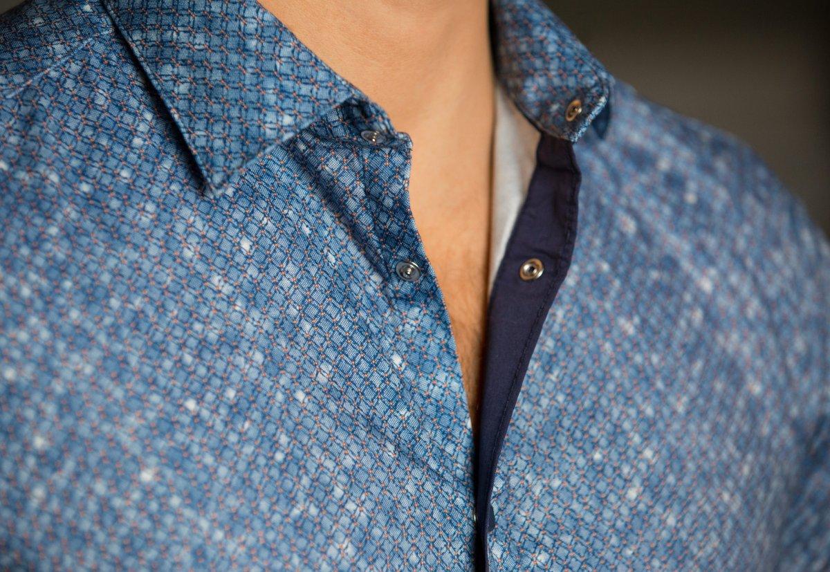 Небесная рубашка Trend 17981-01 - Фото 2