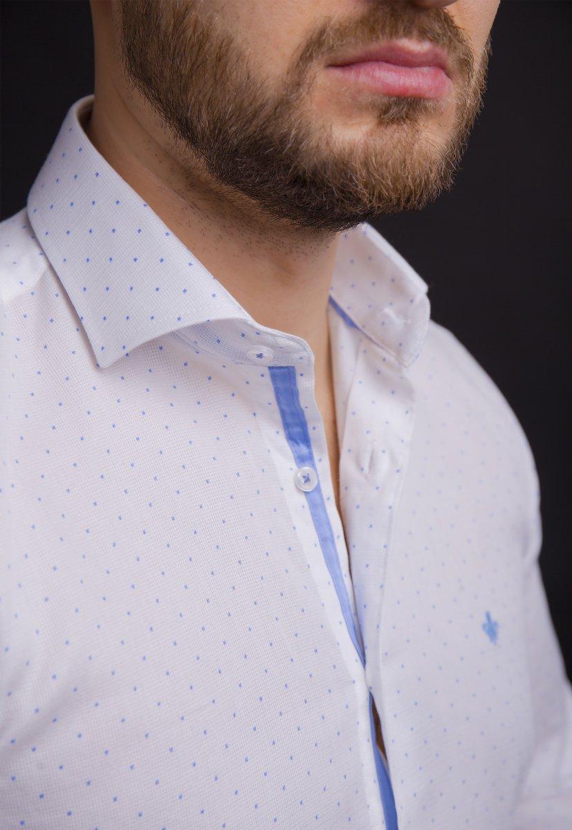 Белая рубашка Trend 02-1061 - Фото 2
