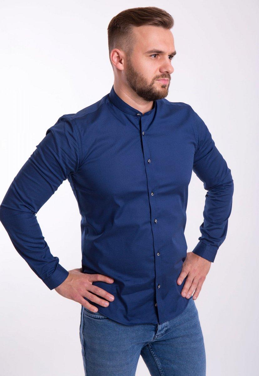 Рубашка Trend Collection U02-1047 Синий - Фото 2