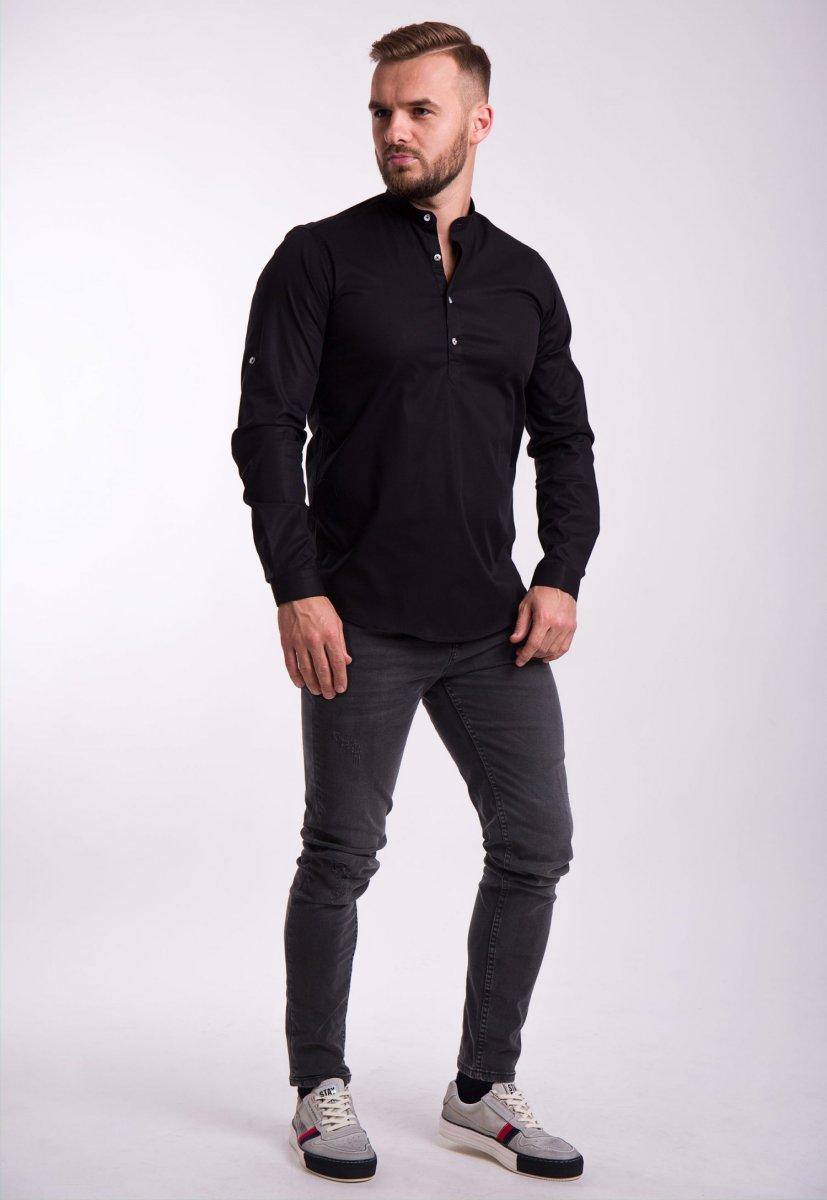 Рубашка Trend Collection U02-1048 Черный - Фото