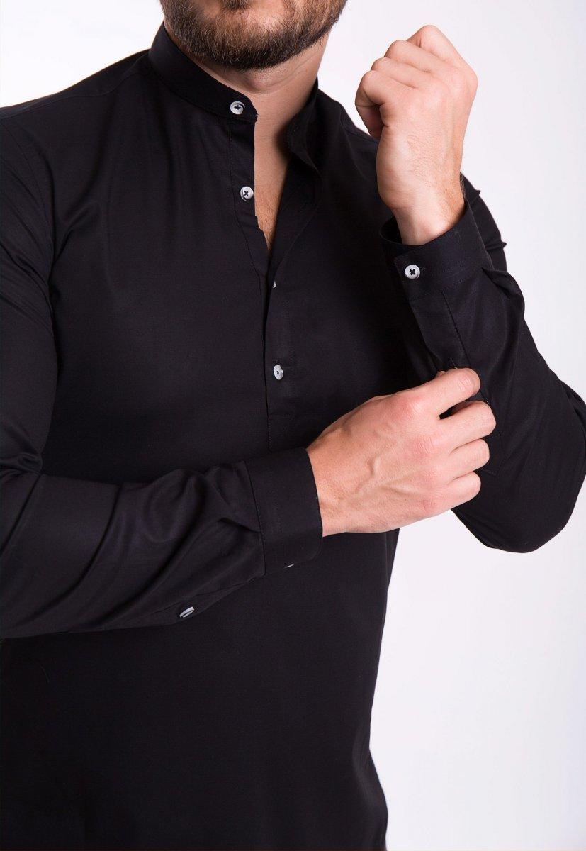 Рубашка Trend Collection U02-1048 Черный - Фото 1