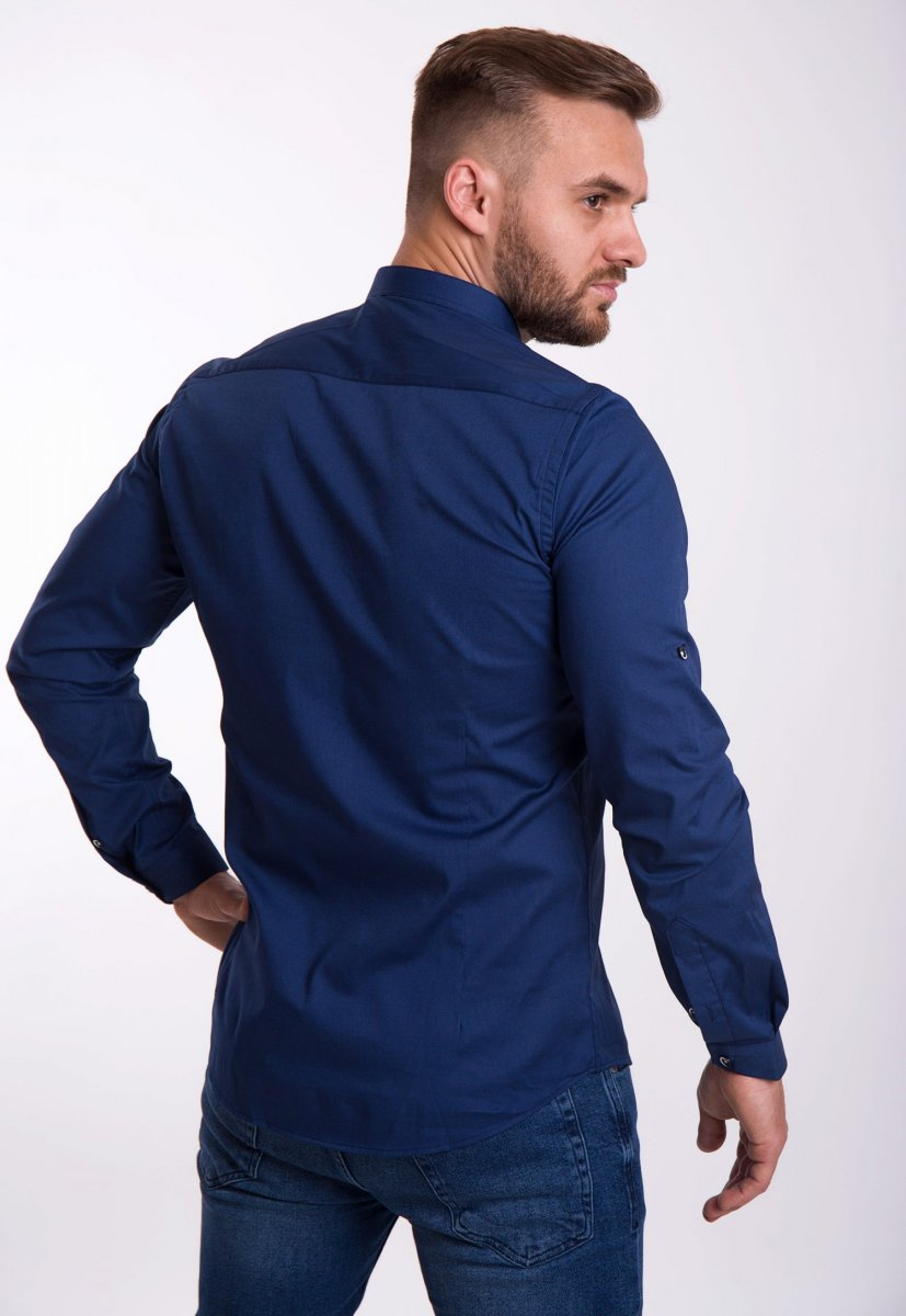 Рубашка Trend Collection U02-1048 Синий - Фото 2