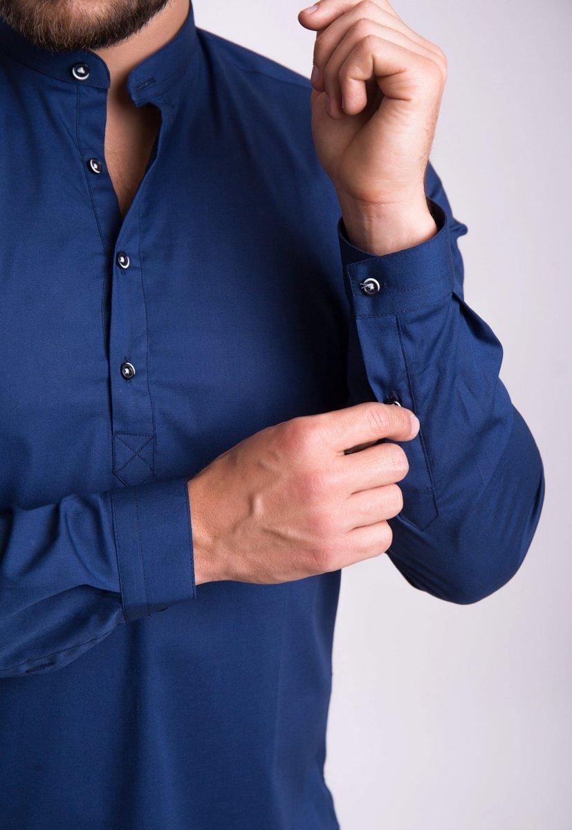 Рубашка Trend Collection U02-1048 Синий - Фото 3