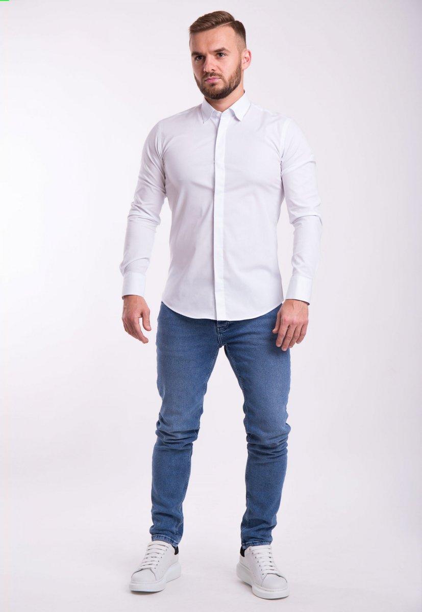 Рубашка Trend Collection U02-1100 Белый - Фото 2