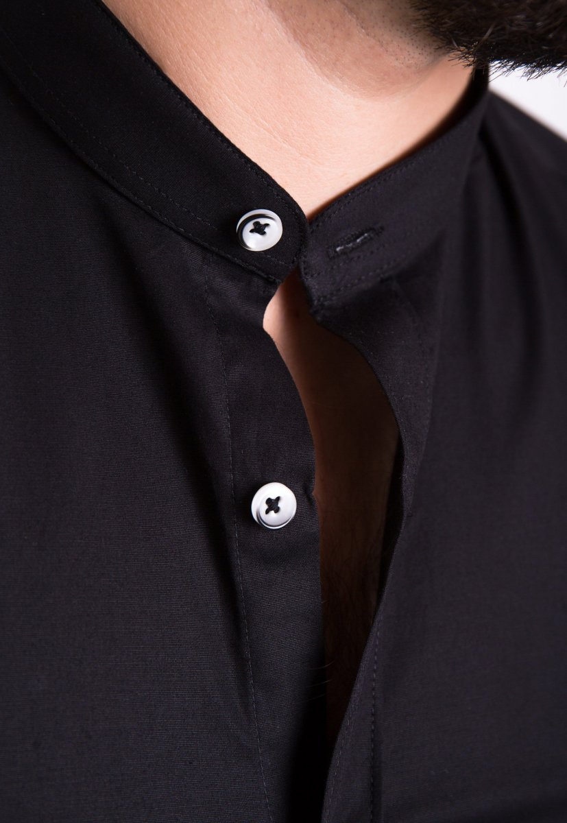 Рубашка Trend Collection U02-1047 Черный - Фото 1