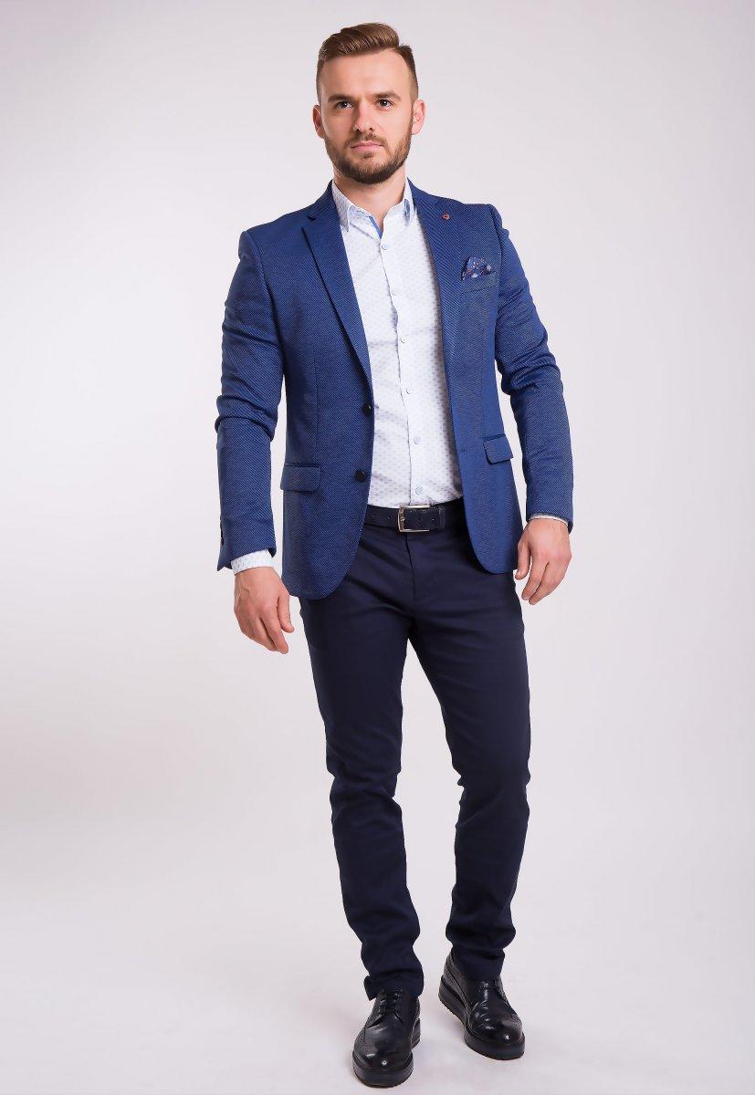 Пиджак TREND Синий 3760 - Фото