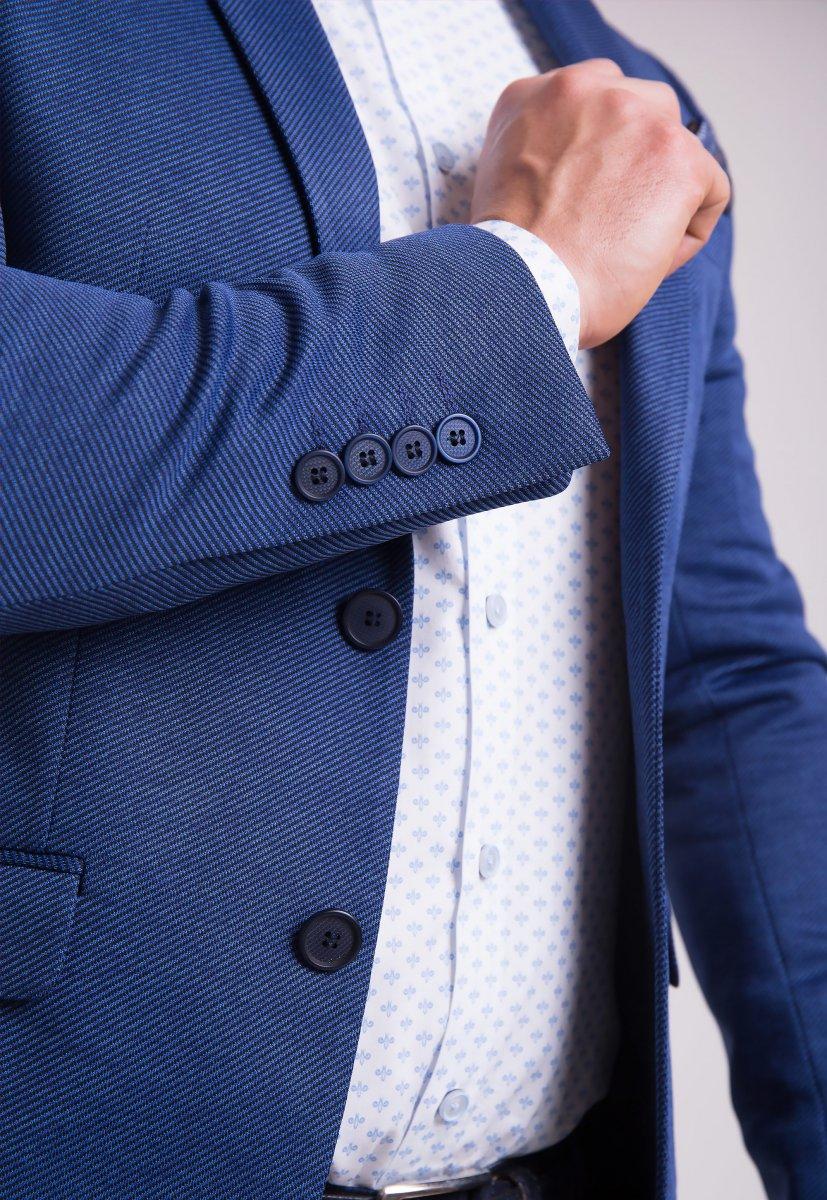 Пиджак TREND Синий 3760 - Фото 2