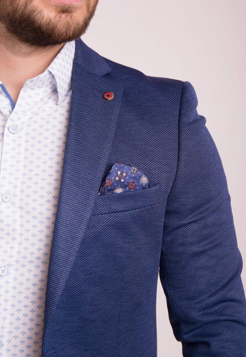Пиджак TREND Синий 3760 - Фото 3