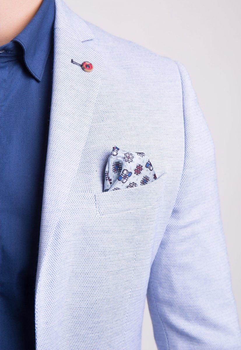 Пиджак Trend Collection 3820 Небесный - Фото 2