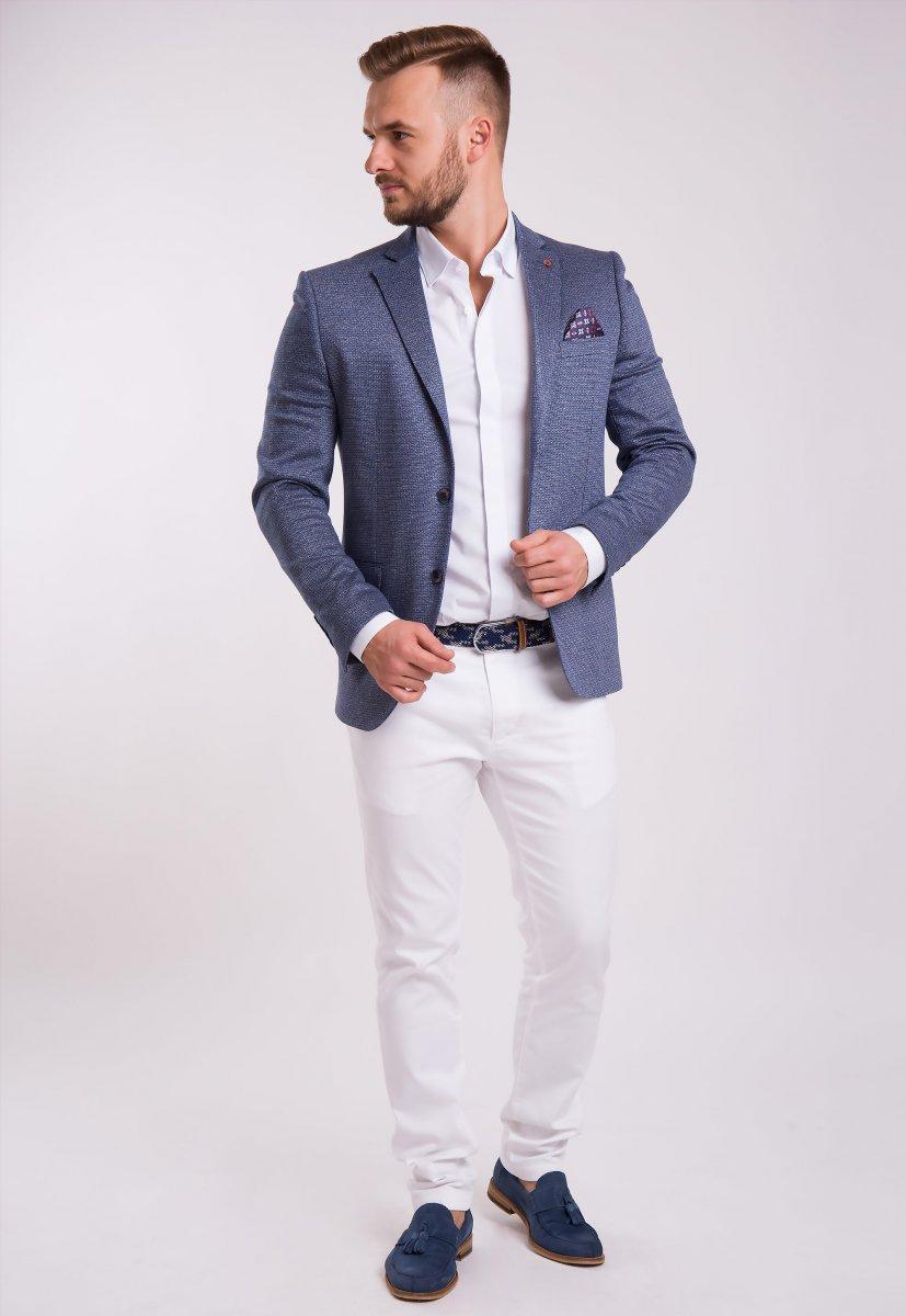 Пиджак Trend Collection 3745 Серо-синий - Фото 2