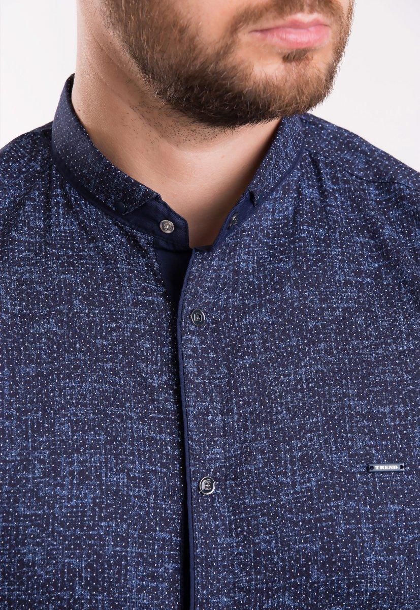 Рубашка TREND Синий + точка 18239 - Фото
