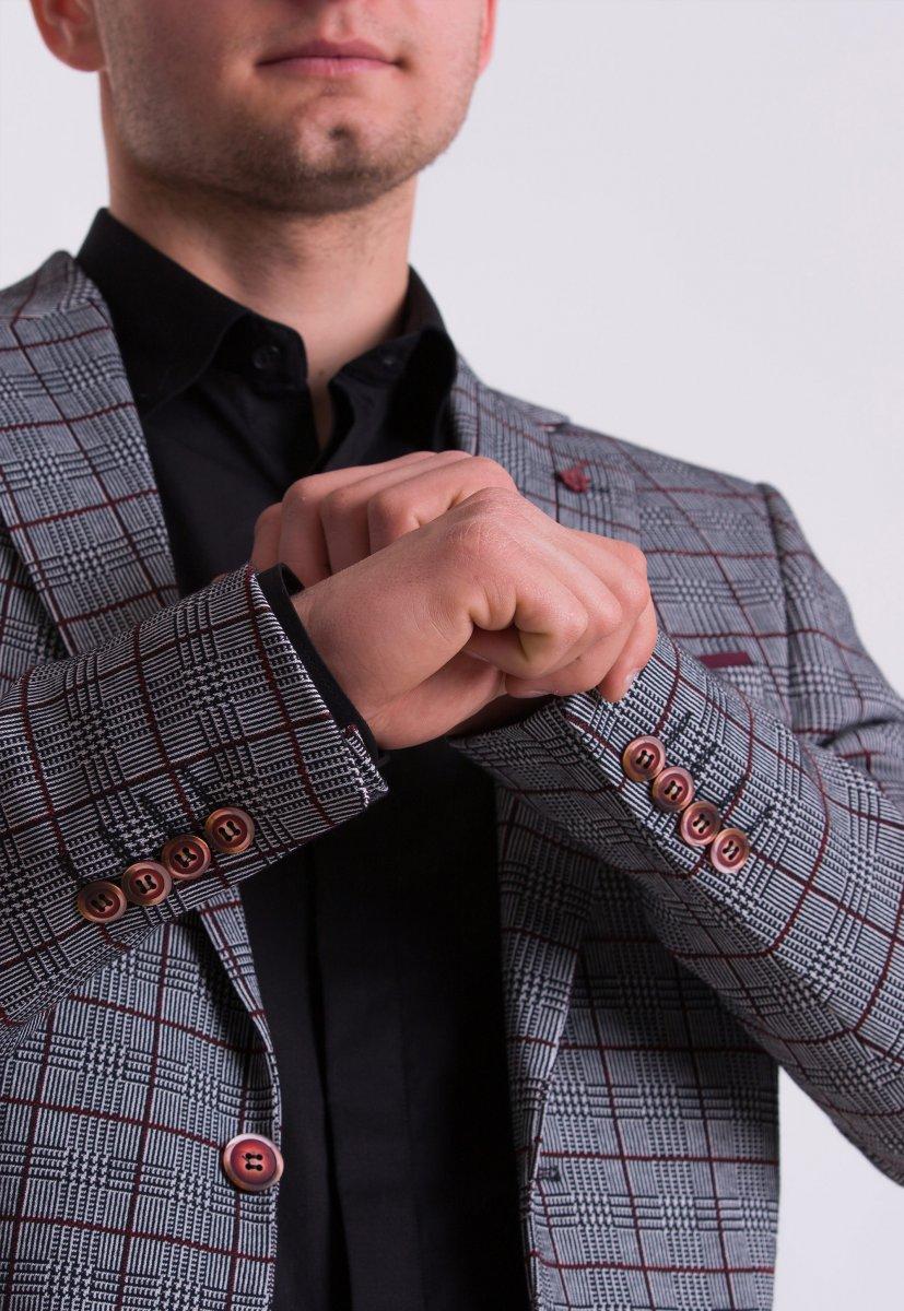 Мужской костюм (2571, G831, U02-1100.) - Фото