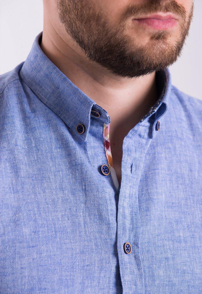 Рубашка Trend Collection 02-1096 Синий - Фото