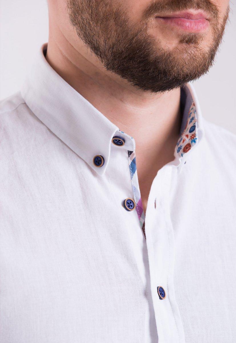 Рубашка Trend Collection 02-1096 Белый - Фото